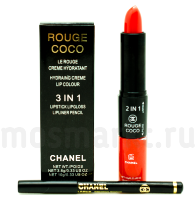 Chanel Rouge Coco 3 in 1