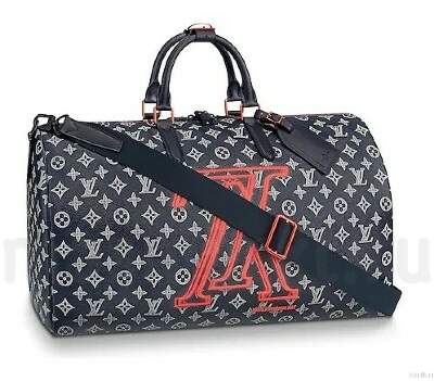 Louis Vuitton Keepall BANDOULIERE 50 Upside Down
