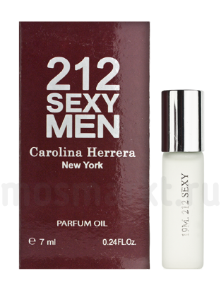 Масляные духи Carolina Herrera 212 Sexy Men