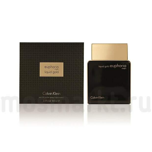 Calvin Klein Euphoria Men Liquid Gold купить мужской парфюм цены на