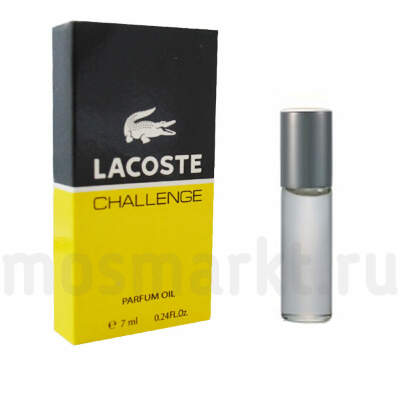 Масляные духи Lacoste challenge