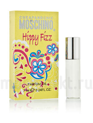 Масляные духи Moschino Cheap and Chic Hippy Fizz