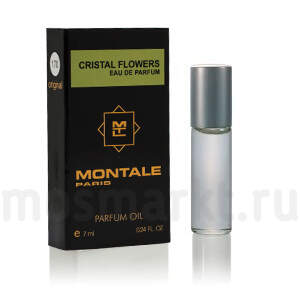 Масляные духи Montale Cristal Flowers