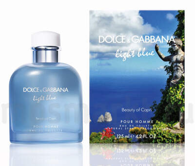 Dolce Gabbana Light Blue Beauty of Capri pour homme
