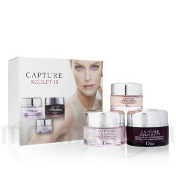 Набор кремов Christian Dior Capture Sculpt 10, 3 в 1