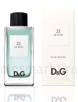 Dolce and Gabbana 21 Le Fou Pour Homme