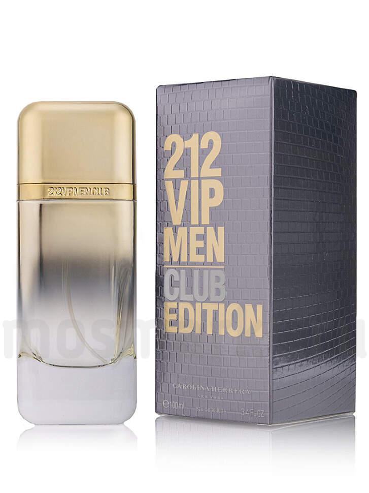 Carolina Herrera 212 Vip Club Edition Men купить мужской парфюм