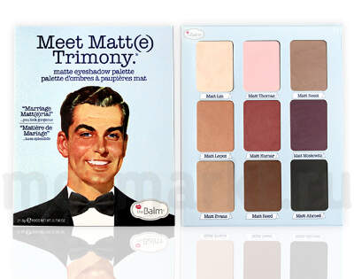 The Balm Meet Matte Trimony