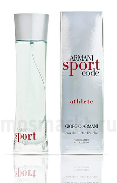 f0542f544a12 Giorgio Armani Code Sport Athlete
