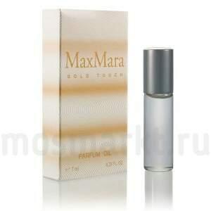 масляные духи Max Mara Gold Touch купить по цене от 260 руб отзывы