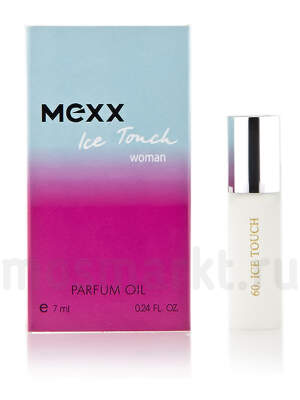 Масляные духи Mexx Ice Touch Woman