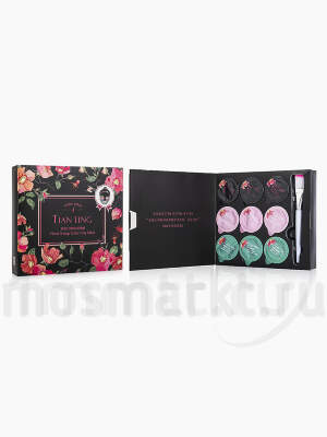 Набор масок Tian Ting Floral 3-Step Color Clay Mask