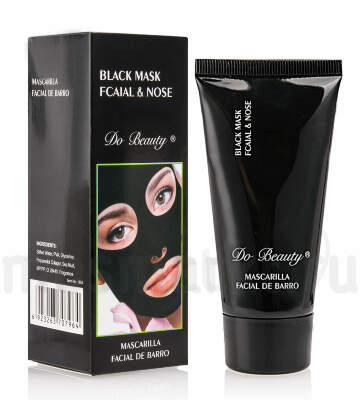Маска для лица Do Beauty Black Mask Fcaial & Nose