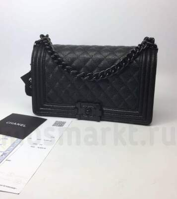 Chanel Boy Black