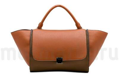Celine Trapeze Orange
