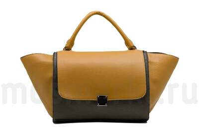 Celine Trapeze Yellow