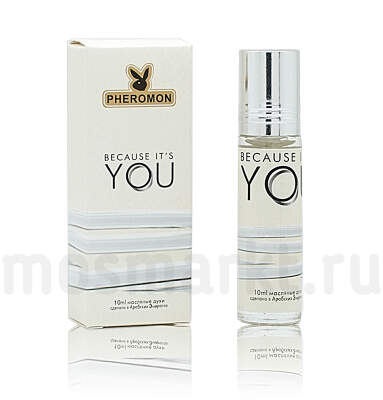 Масляные духи Giorgio Armani Emporio Armani Because It`s You