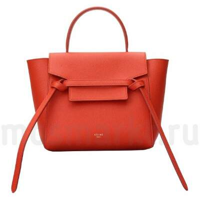CELINE MICRO BELT Red
