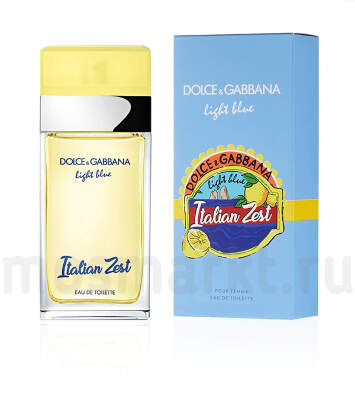 Dolce and Gabbana Light Blue Italian Zest Pour Femme