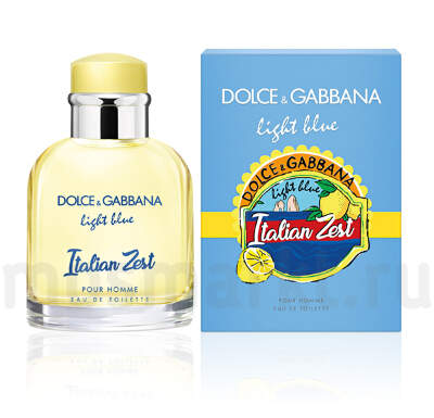 Dolce and Gabbana Light Blue Italian Zest Pour Homme