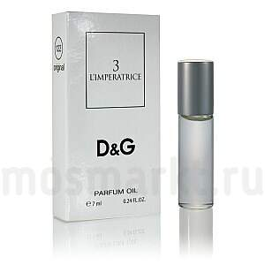 Масляные духи Dolche and Gabbana 3 l'imperatrice