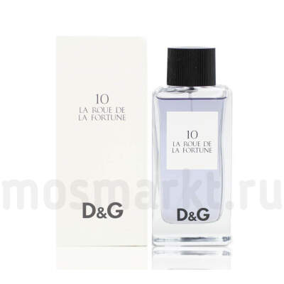 Dolce and Gabbana 10 La Roue De La Fortune