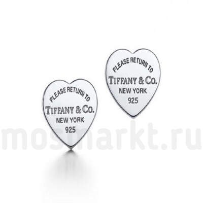 Серьги Tiffany and Co