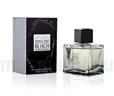 Antonio Banderas Splash Seduction In Black