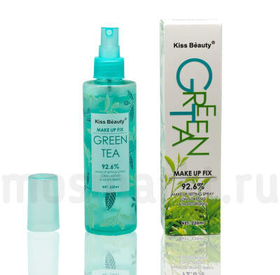Kiss Beauty Green Tea Make Up Fix